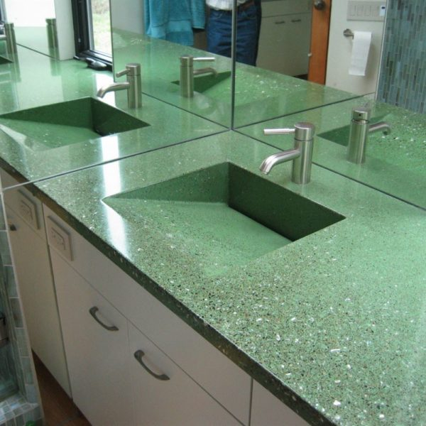 Manufacture of Green-marble