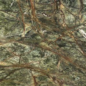 Exporter of Rain-Forest-Green-Marble in India