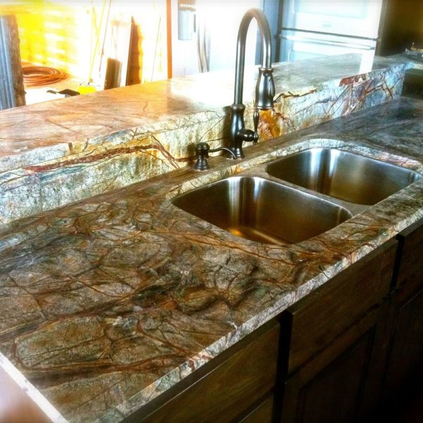 Supplier of Rainforest Green Marble in India
