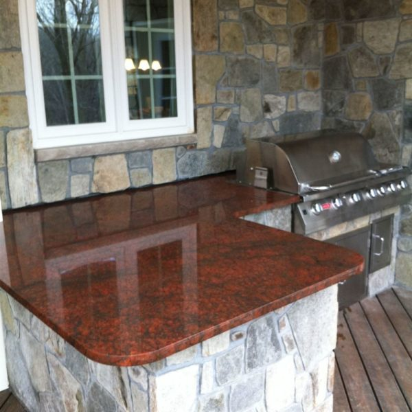 Manufacturer of Red Fire Marble
